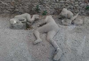 Mount Vesuvius dead